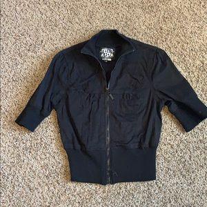 Zip up half sleeve Jacket Size M